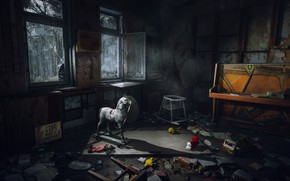 Picture the game, toys, Windows, game, Chernobyl, piano, Chernobylite, Cernobylis, chernobylite