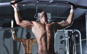 Picture muscle, muscle, training, athlete, the horizontal bar, workout, workout, gym, training, abs, crossfit, CrossFit, Crossfit, …
