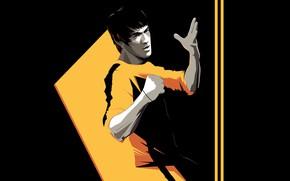Picture Minimalism, Background, Art, Art, Bruce Lee, Bruce Lee, Craig Drake, Game of Death, by Craig …