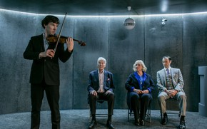 Picture violin, family, brothers, Sherlock Holmes, parents, Benedict Cumberbatch, Benedict Cumberbatch, still from the film, Mark …