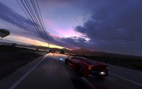 Picture Ferrari, game, LaFerrari, Forza Horizon 3