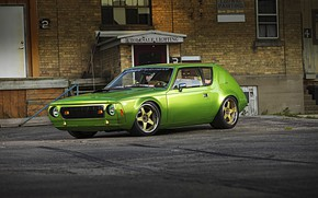 Picture Car, Green, Coupe, AMC Gremlin