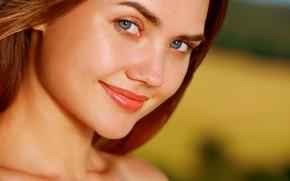 Picture look, girl, face, sweetheart, model, beauty, Georgia, Pauline Kadynska