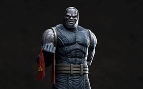 Picture villain, cloak, Superman, DC Comics, darkseid
