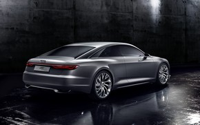 Picture Concept, background, Audi, coupe, dark, Coupe, 2014, Prologue