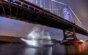 Picture Pennsylvania, Philadelphia, Old City, Ghost Ship
