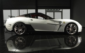 Picture Italy, Supercar, Mansory, Ferrari 599 GTB Fiorano, Stallone, sport RWD limited-edition double, a car with …