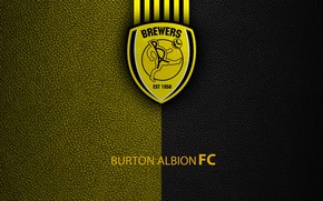 Picture wallpaper, sport, logo, football, English Premier League, Burton Albion