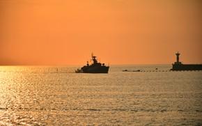 Picture ship, anti-submarine, small, Suzdalets