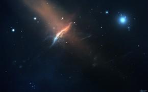 Picture Stars, Space, Nebula, Fantasy, Art, Stars, Space, Art, Fiction, Nebula, StarkitecktDesigns, by StarkitecktDesigns, Cosmic Peaks