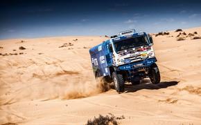 Picture Sand, Auto, Sport, Machine, Speed, Truck, Race, Master, Russia, Kamaz, Rally, KAMAZ-master, Rally, KAMAZ, The ...
