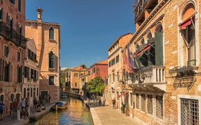 Picture home, Italy, Venice, channel