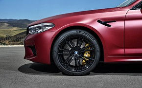 Picture BMW, the front part, 2017, M5, F90, M5 First Edition