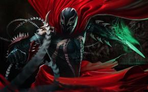 Picture Comic, Art, Comics, Character, The One, Spawn, Spawn, Elected, Hellspawn, Comics Art, Demon Knight, Dan …