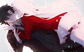 Picture romance, woman, anime, art, male, Fate zero, Emiya Kiritsugu, The fate of the beginning