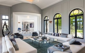Picture Villa, interior, living room, living room, Beverly Hills, mansion
