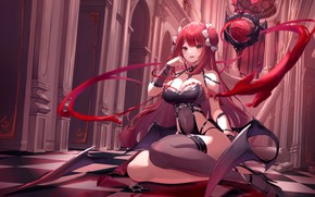 Picture Blood, Fantasy, Vampire, king's raid, ores, munseonghwa