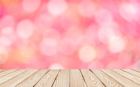 Picture background, tree, pink, Board, wood, pink, background, bokeh, bokeh, table