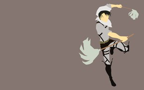 Picture Anime, Shingeki no Kyojin, Attack of the titans, Levi Ackerman, razvedchicy, Cleaning
