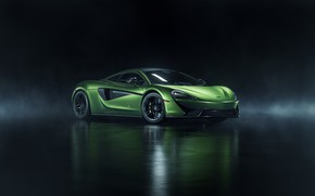 Picture rendering, McLaren, supercar, 570S, 2019, photoshop art, by John Schendel