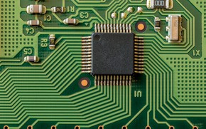 Picture macro, background, computer, electronics, well connected