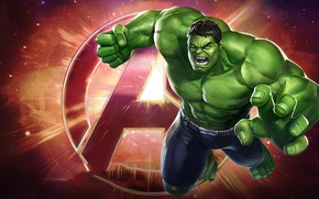Picture Hulk, Marvel Comics, Marvel's Avengers
