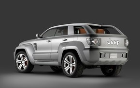 Picture Concept, 2007, Jeep, Trailhawk