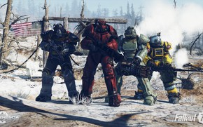 Picture Weapons, Armor, Fallout, Bethesda Softworks, Bethesda, Brotherhood, Bethesda Game Studios, Brotherhood of Steel, Fallout 76, ...