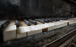 Picture music, keys, piano