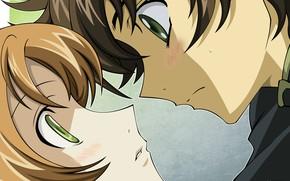 Picture anime, art, two, Code geass, Code geass
