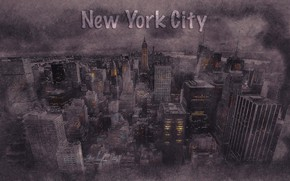 Picture the city, art, New York