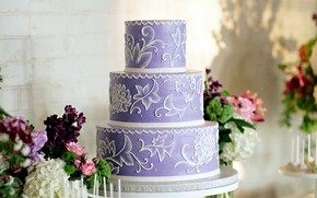 Picture patterns, cake, tiers