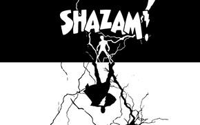 Picture background, zipper, hero, hero, Shazam, Shazam