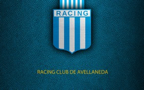 Picture wallpaper, sport, logo, football, Racing Club De Avellaneda
