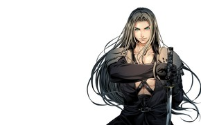 Picture art, Final Fantasy, Sephiroth, fantasy