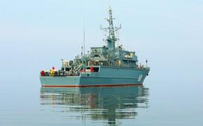 Picture ship, Baltika, Ivan Antonov, mine