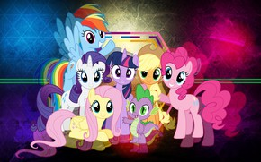 Picture pony, friends, My Little Pony, girlfriend