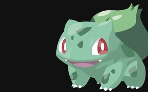 Picture background, pokemon, Bulbasaur