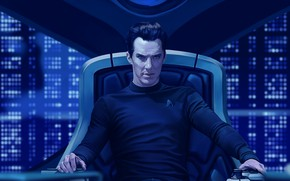 Picture art, Benedict Cumberbatch, Benedict Cumberbatch, Star Trek Into Darkness, by andromedadualitas