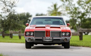 Picture Classic, Muscle car, Hardtop, Oldsmobile 442, W30