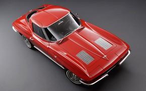 Picture Corvette, Classic, 1963, Classic car, Sting Ray C2, Chevrolet Corvette C2, Chvroleet Corvette, Chevrolet Corvette …