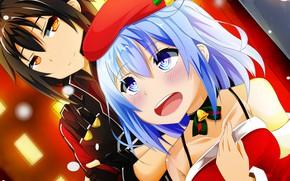 Picture girl, guy, Sword Art Online, Kirito, Sword Art Online