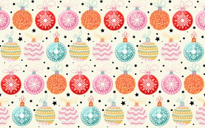 Picture decoration, background, balls, pattern, New Year, Christmas, Christmas, balls, winter, background, pattern, New Year, decoration, …