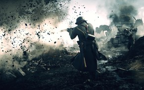 Picture background, the game, Battlefield 1