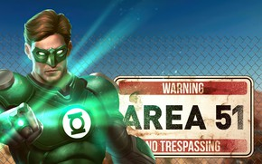 Picture Green Lantern, DC Comics, Injustice 2