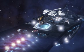 Picture Space, Spaceship, spaceship, Elite: Dangerous