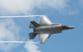 Picture UNITED STATES AIR FORCE, fighter-bomber, Lockheed Martin F-35 Lightning II