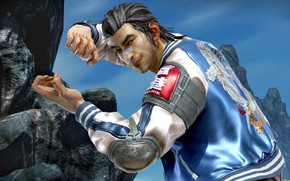 Picture stand, character, Tekken 7: Fated Retribution, Lei Wulong