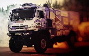 Picture Sport, Machine, Truck, Race, Master, Russia, 300, Kamaz, Rally, KAMAZ-master, Rally, KAMAZ, RedBull, Master, Silk …