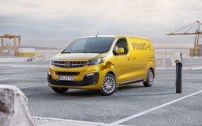 Picture opel, van, electric vehicle, vivaro
